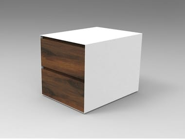 Walnut bedside table 01 | Bedside table