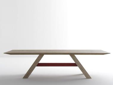 Rectangular table BUTLER