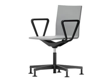 Sedia ufficio in schiuma poliuretanica integrale a 5 razze .04 | Sedia ufficio a 5 razze