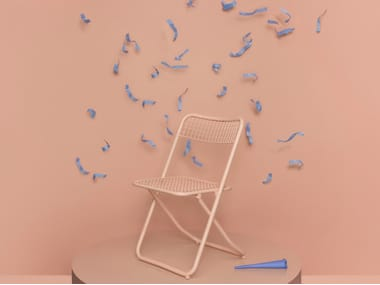 Folding steel chair 085 | Chair