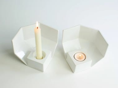 Ceramic candle holder 1/4 | Candle holder