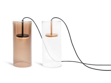 Lampada da tavolo a LED in vetro JACQUELINE TABLE