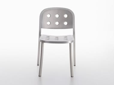 Stackable aluminium chair 1 INCH ALL ALUMINUM | Chair