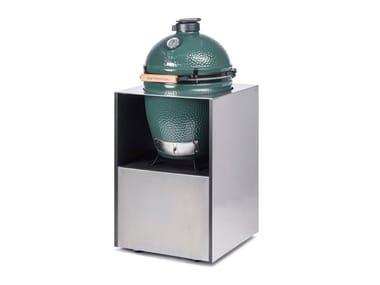 Barbecue in acciaio inox ONO BIG GREEN EGG