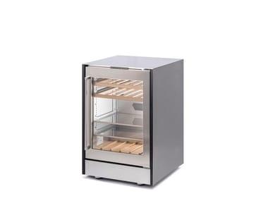 Stainless steel wine cooler with glass door ONO COOLER