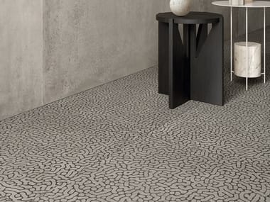 Porcelain stoneware wall/floor tiles with concrete effect ZOOM REEF SHADE