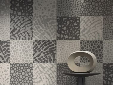 Porcelain stoneware wall/floor tiles with concrete effect ZOOM MIX 20