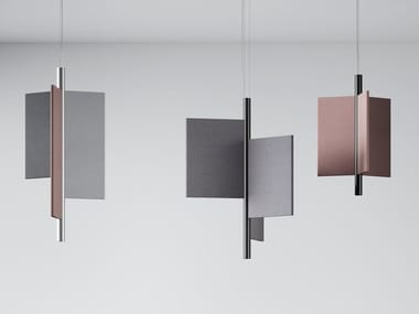 Acoustic pendant lamps