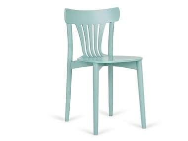 Stackable wooden chair CORTE A-4312