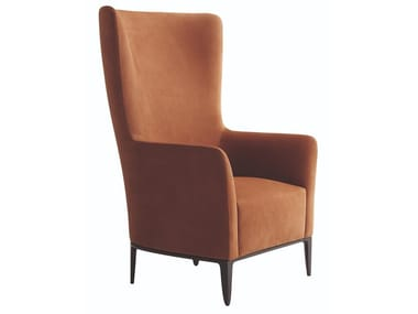 Bergere high-back fabric armchair GENTLEMAN | Bergere armchair