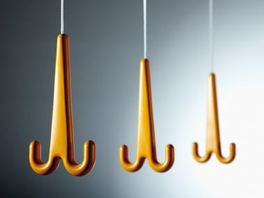 Hanging aluminium coat rack JONAS