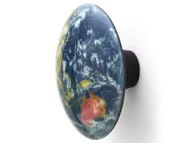 Appendiabiti da parete in rovere EARTH ASIA | Appendiabiti