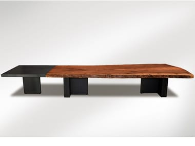 Dining table Plane tree dining table