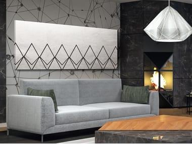 Radiateur décoratif à panneau horizontal mural en aluminium DP 00519Arg