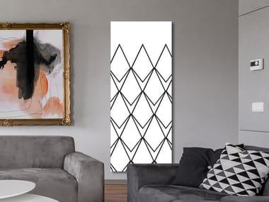 Radiateur décoratif à panneau vertical mural en aluminium DP 00519A