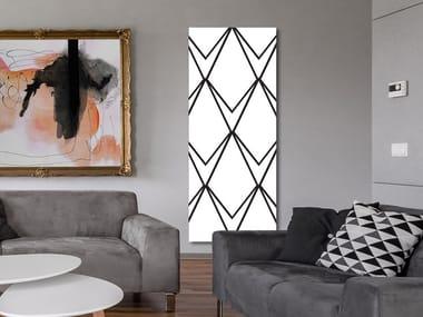 Radiateur décoratif à panneau vertical mural en aluminium DP 00519