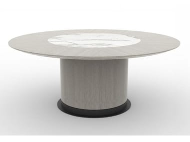 Round Ceramic slate table SYCAMORE | Table