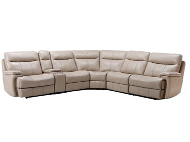 Corner leather sofa US-153602P | Sofa