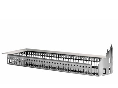 Silver plated brass or stainless steel tray 100 PIAZZE - VIGEVANO PIAZZA DUCALE