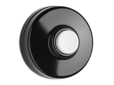 Bakelite doorbell button 100881 | Bakelite doorbell, white