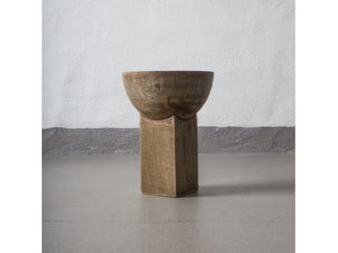 Wooden vase 101 COPENHAGEN - MANGO BLOCK Small