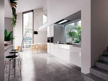 Linear fitted kitchen SPACE | Kitchen