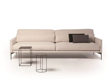 Sectional leather or fabric sofa 110 MODERN
