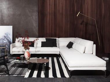 Corner sectional fabric sofa 110 MODERN | Corner sofa