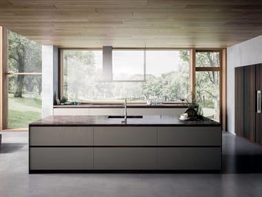 Fitted kitchen with island VELVET ELITE | Kitchen