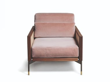 Fabric or leather armchair with removable cover 115 MODERN EPOQUE | Armchair