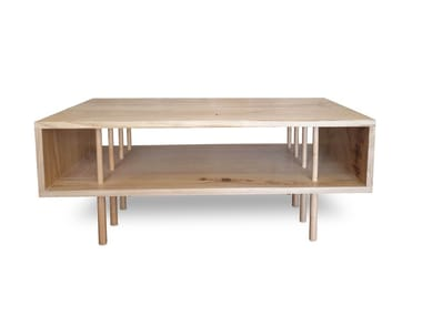 Low rectangular wooden coffee table 12.2 | Coffee table