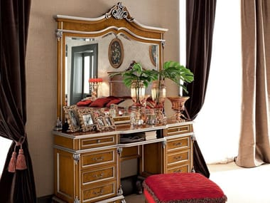 Baroque wooden dressing table 12210 | Dressing table