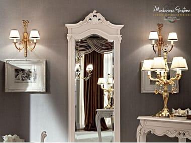 Wall-mounted solid wood mirror 12215   Mirror