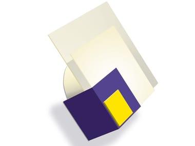 Applique a luce diretta fatta a mano 1227 JAU / VIO | Applique