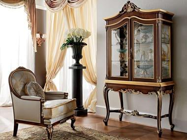Solid wood display cabinet 12602 | Display cabinet