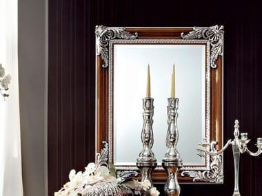 Rectangular wall-mounted framed mirror 12643 | Mirror