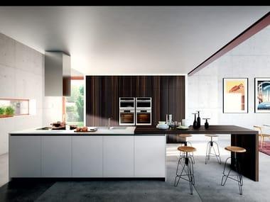 Fitted kitchen with island VELVET ELITE | Kitchen with island