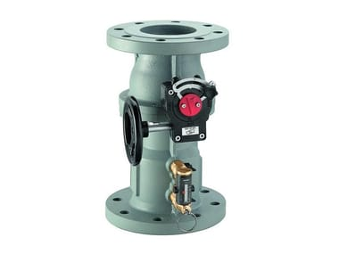 Flanged balancing valve with flow meter 132 | Balancing valve