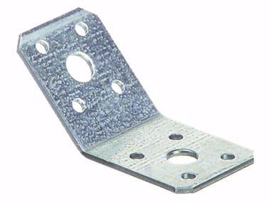 Piastra angolare a 135° in acciaio zincato Piastra angolare a 135°
