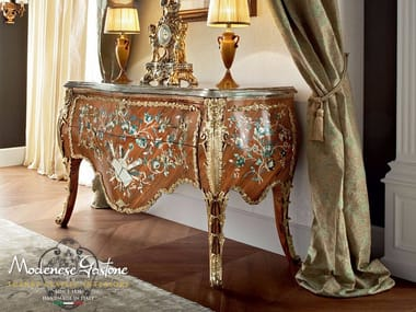 Madia in legno in stile barocco con cassetti 13604 | Madia