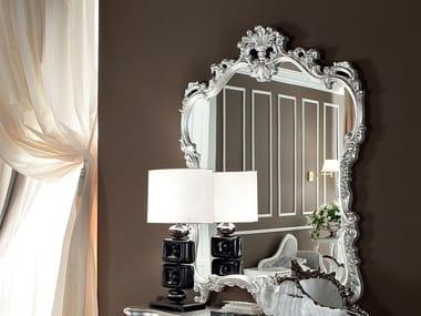 Rectangular wall-mounted framed mirror 13681   Mirror