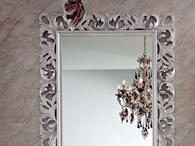 Freestanding rectangular framed mirror 13690 | Mirror
