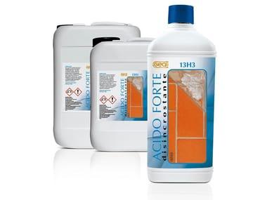 Acido disincrostante per pulizia di cantiere ACIDO 13H3