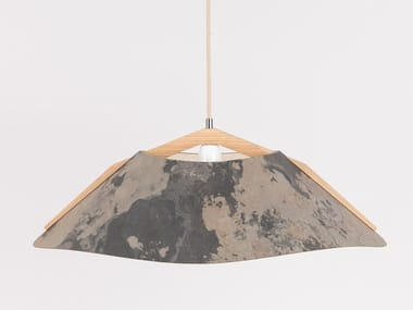 Customizable wooden pendant lamp with dimmer 1411 | Pendant lamp