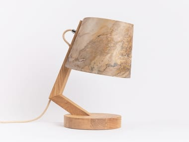 Customizable wooden table lamp with dimmer 1411 | Table lamp