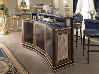 Wooden bar counter 14113 | Bar counter