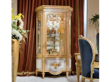 Vetrina in legno e vetro 1440   Vetrina