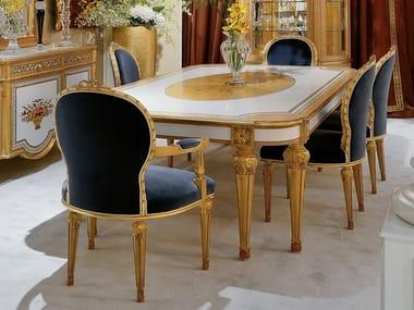 Tavolo da pranzo rettangolare in legno 1440   Tavolo