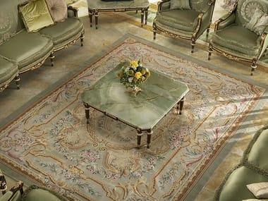 Tavolino basso quadrato in marmo 14603 | Tavolino quadrato