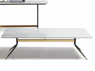 Low rectangular coffee table 1500 SWING | Rectangular coffee table